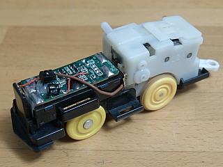 プラレール 電池